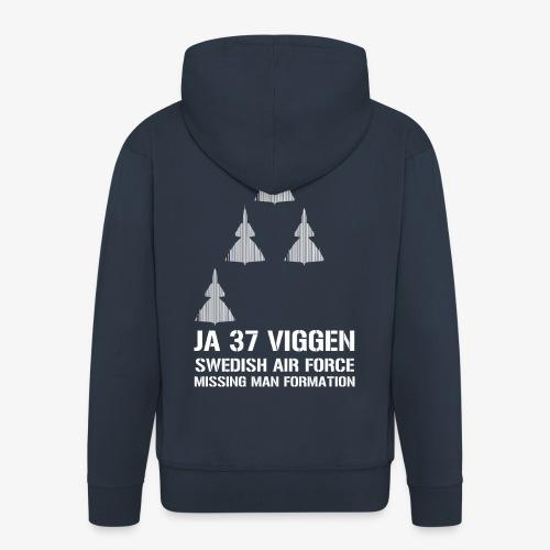 JA 37 Viggen - Missing Man Formation - Premium-Luvjacka herr