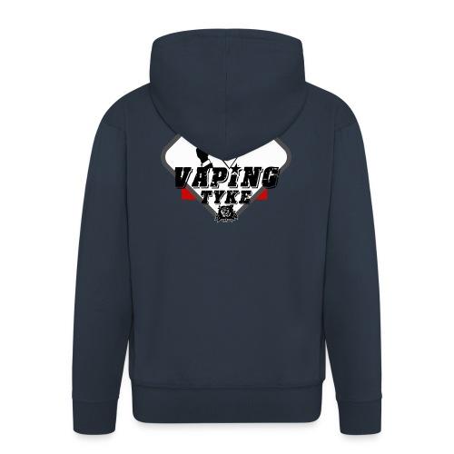the Vaping tyke - Men's Premium Hooded Jacket