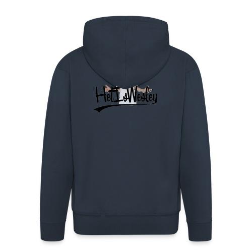 HetIsWesley T-Shirt - Mannenjack Premium met capuchon