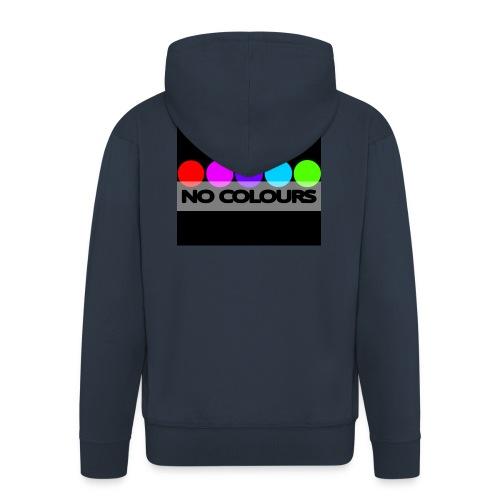 no_colours_20 - Chaqueta con capucha premium hombre