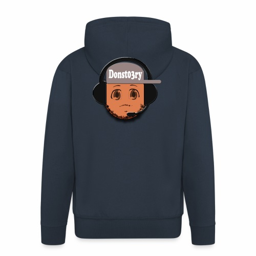 Dons logo - Men's Premium Hooded Jacket