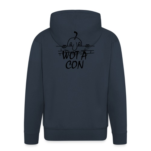 WOT A CON - Men's Premium Hooded Jacket