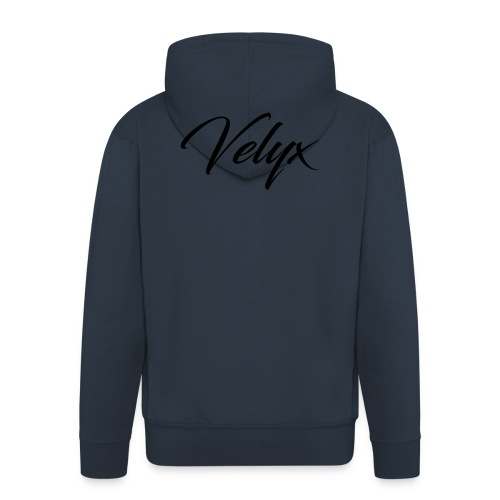 Velyx - Felpa con zip Premium da uomo