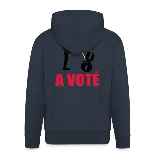 A voté - Veste à capuche Premium Homme