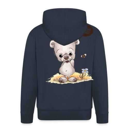 Noah der kleine Bär - Männer Premium Kapuzenjacke