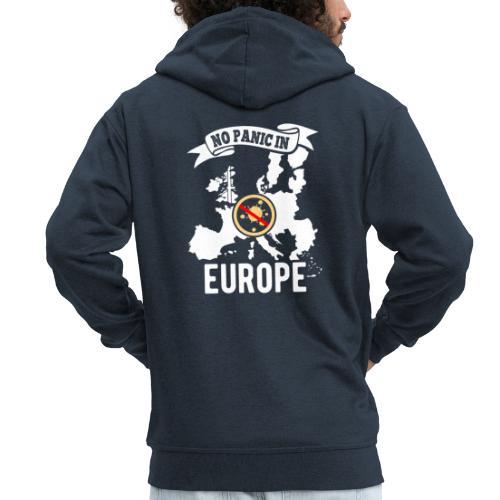 Europa against Corona - Männer Premium Kapuzenjacke