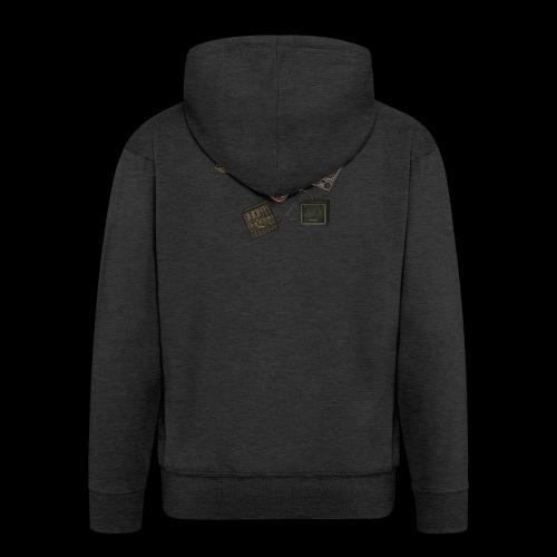 Music - Men's Premium Hooded Jacket