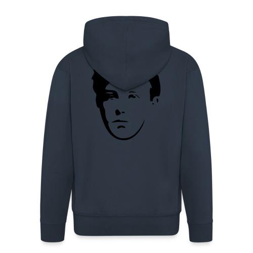 Arthur Rimbaud visage - Veste à capuche Premium Homme