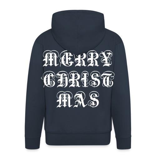 Merry Christmas X-mas - Männer Premium Kapuzenjacke