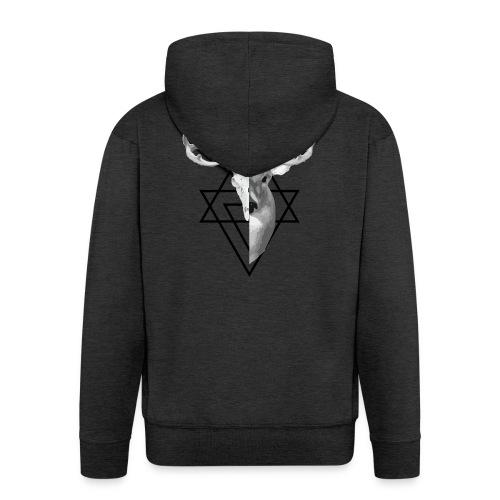 My Deer - Miesten premium vetoketjullinen huppari