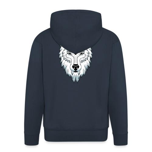 female wolf newschool - Veste à capuche Premium Homme