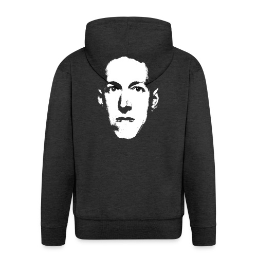 Lovecraft - Felpa con zip Premium da uomo