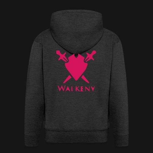 Das Walkeny Logo mit dem Schwert in PINK! - Männer Premium Kapuzenjacke