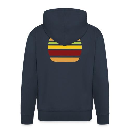 Logo Burger Panhamburger - Veste à capuche Premium Homme