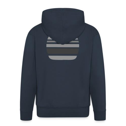 Logo_panhamburger_gris - Veste à capuche Premium Homme