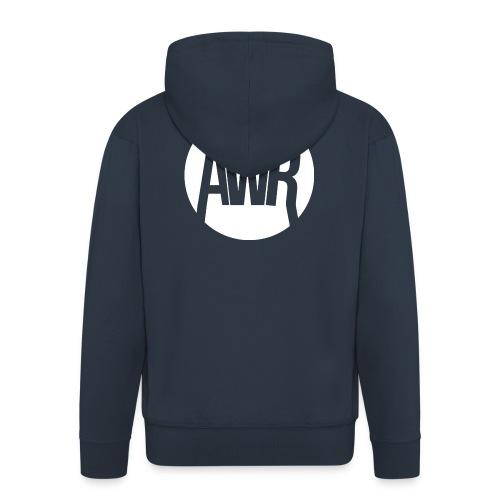ArmooWasRight Logo - Mannenjack Premium met capuchon