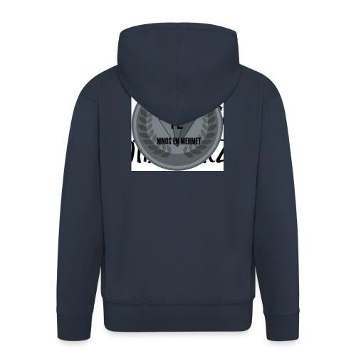 F2FOOTBALLERZ Z youtube kanaal T shirt - Mannenjack Premium met capuchon