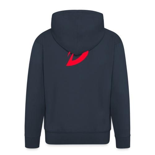 Destra Logo by Atelier render red - Mannenjack Premium met capuchon