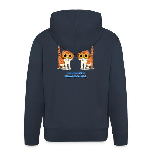 MissK Merchandising - Felpa con zip Premium da uomo