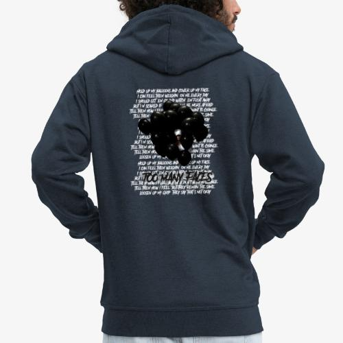 Too many faces (NF) - Men's Premium Hooded Jacket