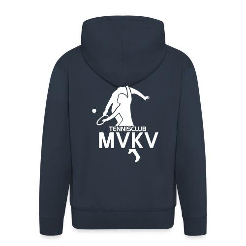 tc mvkv logo - Mannenjack Premium met capuchon