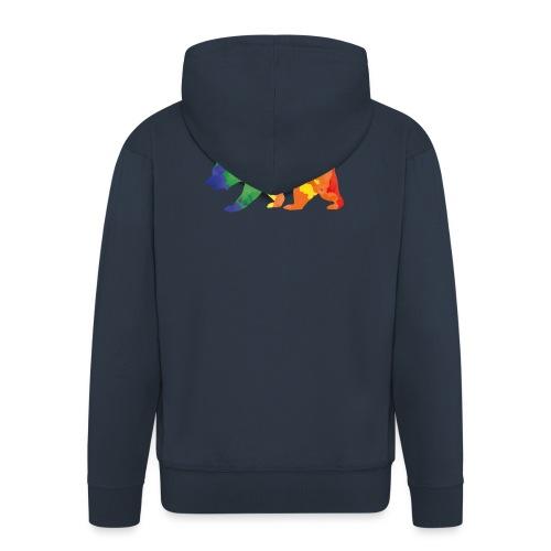 Bear color - Männer Premium Kapuzenjacke