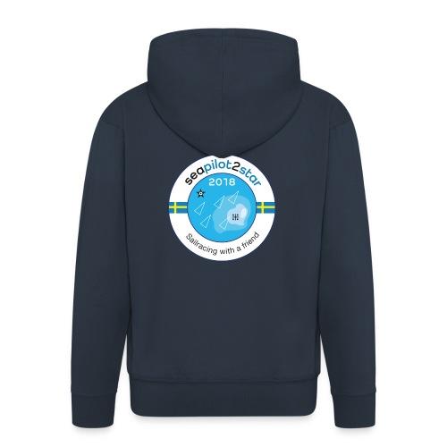 Seapilot2star 2018 logotyp - Premium-Luvjacka herr