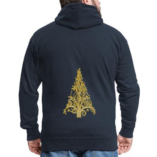 sapin gold (2) - Veste à capuche Premium Homme
