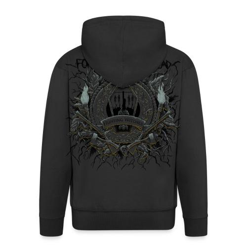 HWTESTGENSER - Men's Premium Hooded Jacket