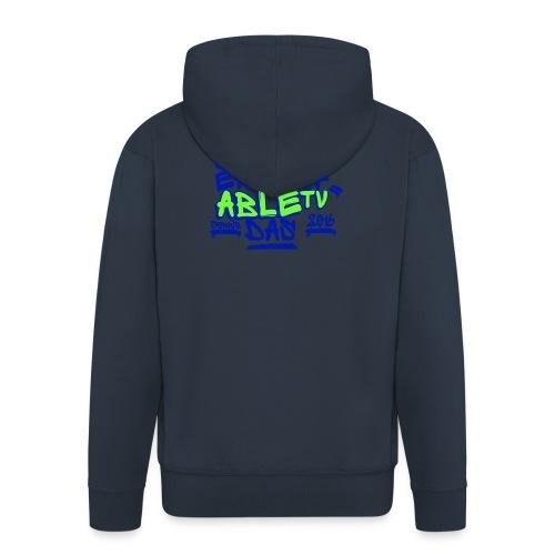 AbleTV Grafitti Logo Marken Shirt (Er Darf Das) - Männer Premium Kapuzenjacke