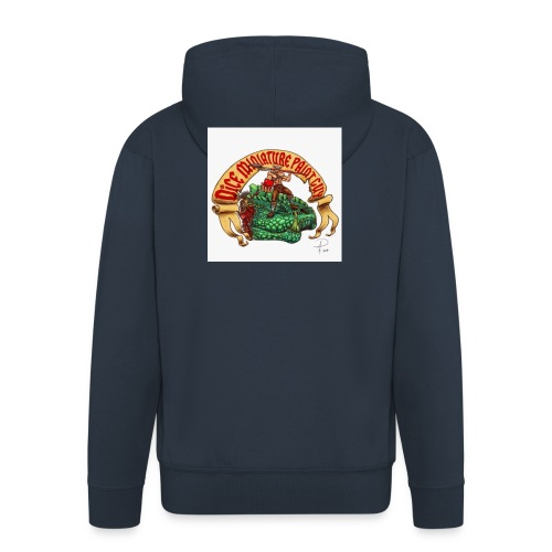 DiceMiniaturePaintGuy - Men's Premium Hooded Jacket