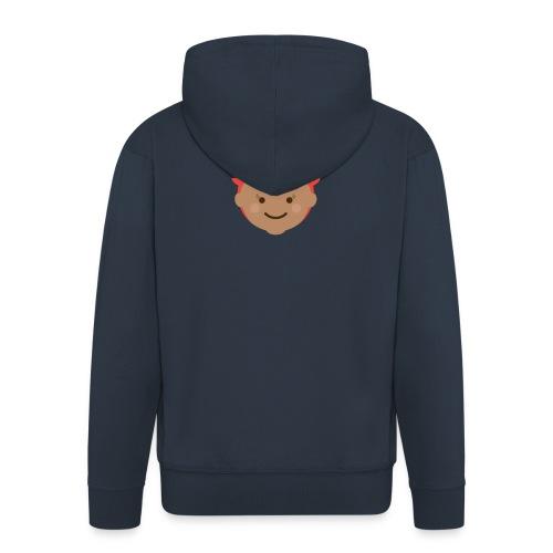 Florence the Fox | Ibbleobble - Men's Premium Hooded Jacket