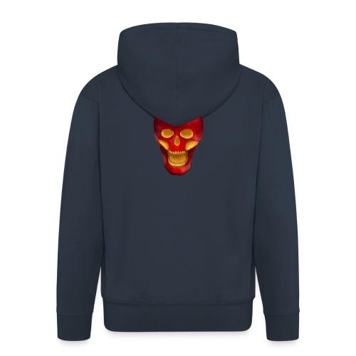 Apple Skull - Männer Premium Kapuzenjacke