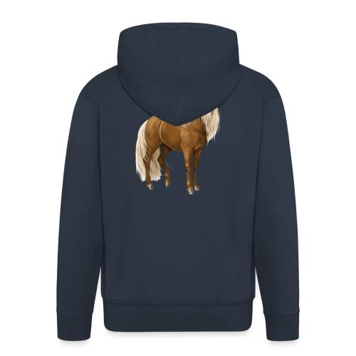 Pony Hengst - Männer Premium Kapuzenjacke