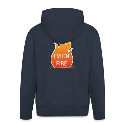 I'm on fire - Mannenjack Premium met capuchon