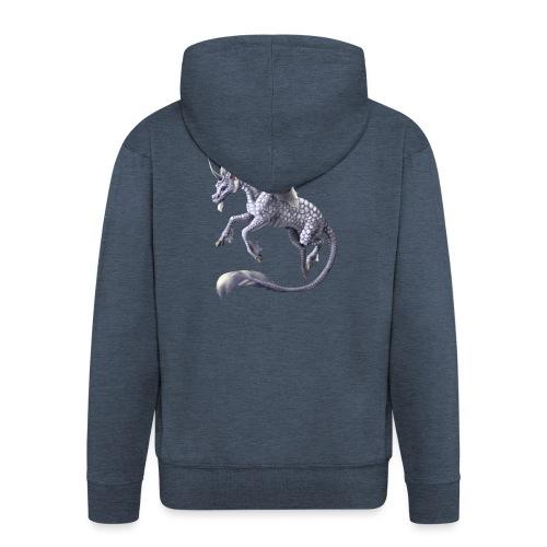 unicorn dragon - Männer Premium Kapuzenjacke