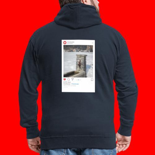 travelsuisse - Brunnen Trin - Männer Premium Kapuzenjacke