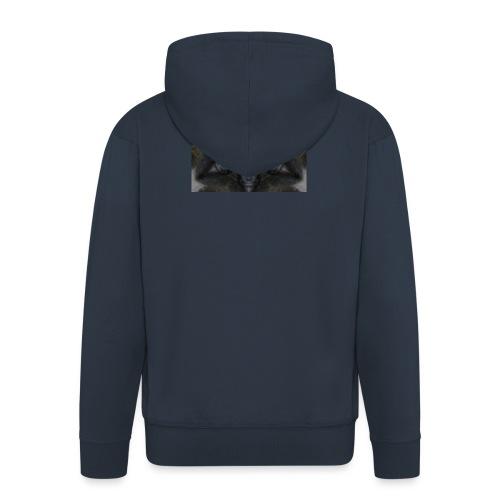 flor hipster - Chaqueta con capucha premium hombre