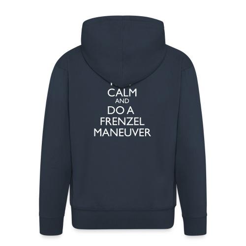 Keep calm and Frenzel - Männer Premium Kapuzenjacke