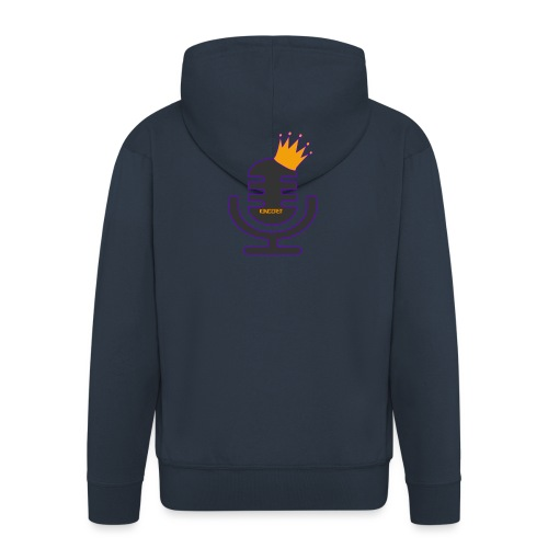 kingcast_logo - Men's Premium Hooded Jacket
