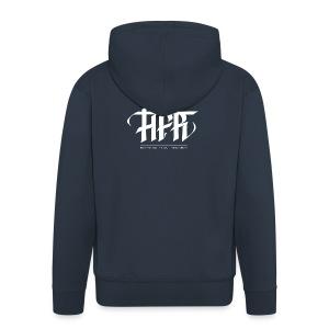 HFR - Logotipi vettoriale - Felpa con zip Premium da uomo
