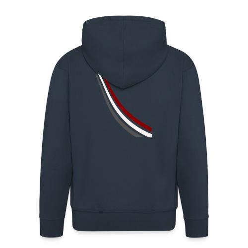 stripes shirt png - Mannenjack Premium met capuchon