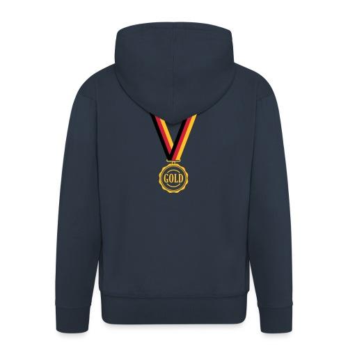 Goldmedaille Deutschland - Männer Premium Kapuzenjacke