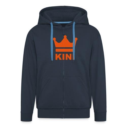 KINI ist König - Männer Premium Kapuzenjacke