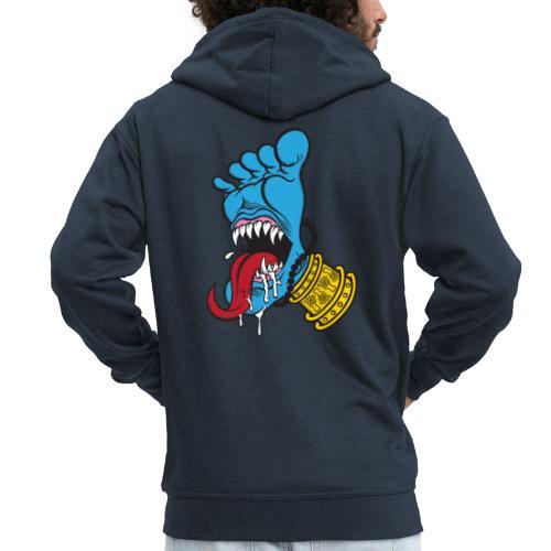 Screaming Foot - Men's Premium Hooded Jacket