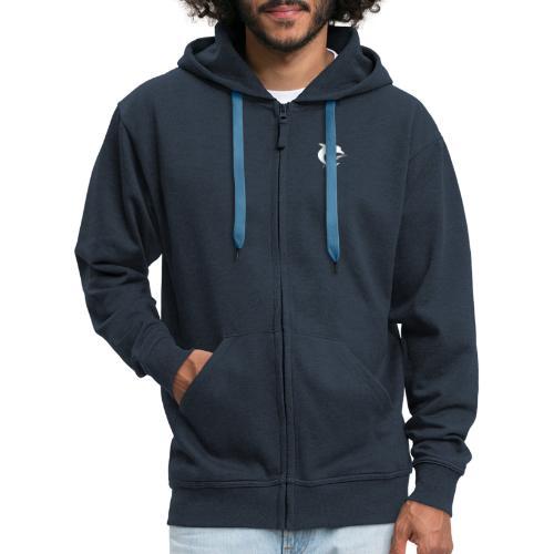 AquaSoft-Logo (Delfin) - Männer Premium Kapuzenjacke