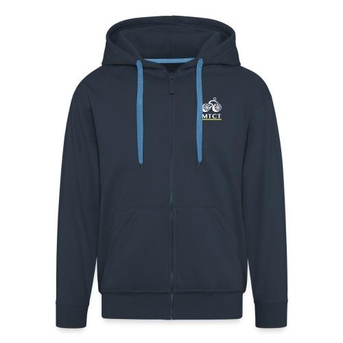 MTCT Lettering - Men's Premium Hooded Jacket