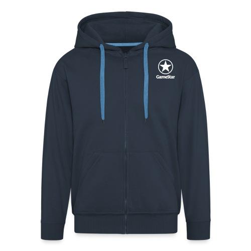 GameStar Logo hochkant - Männer Premium Kapuzenjacke