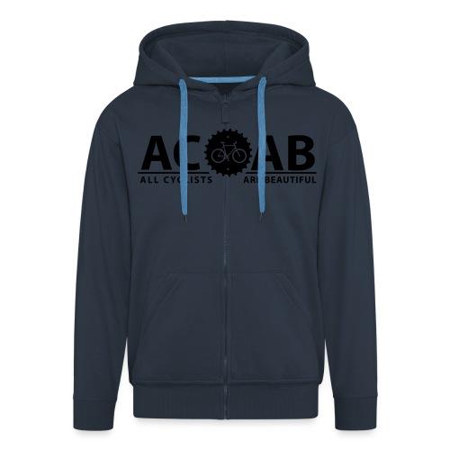 ACAB All Cyclists Are Beautiful T-Shirts - Männer Premium Kapuzenjacke