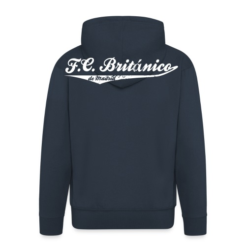 FC Británico College Style - Men's Premium Hooded Jacket